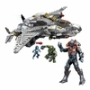 2014 Halo Mega Bloks UNSC Broadsword Midnight [Master Chief, Cortana & Didact!]