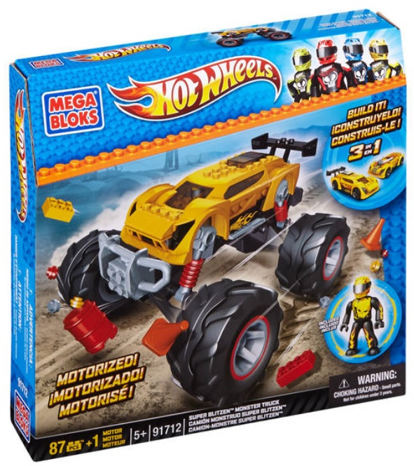 Hot Wheels Super Blitzen Monster Truck [Yellow]