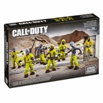 Mega Bloks Call of Duty Figures- Hazmat Zombies Mob [More Figures Version]