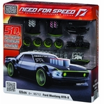 Mega Bloks Need For Speed Set #95712 Mustang RTR-X