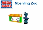Moshi Monsters Mega Bloks Set #80637 Moshling Zoo Dr. Strangeglove