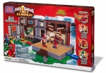 Power Rangers Mega Bloks Set #5833 Super Samurai Samurai HQ Battle
