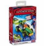 Spiderman Mega Bloks Set #91325 Lizard Racer