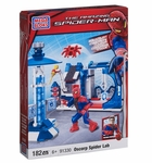 Spiderman Mega Bloks Set #91330 Oscorp Spider Lab