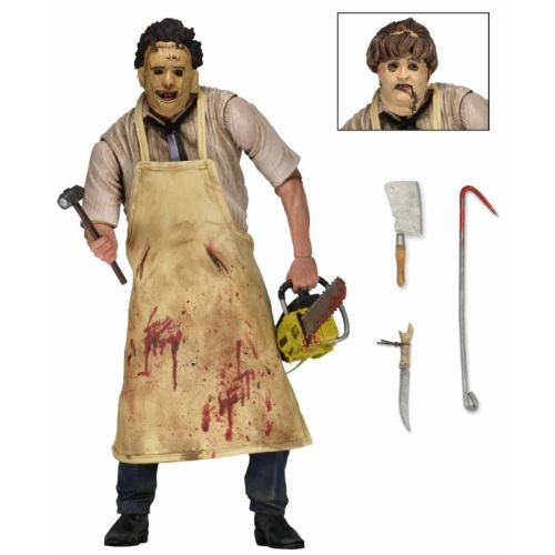 Ultimate Leatherface 1974 Appearance Texas Chainsaw Masacre Action Figure by NECA.