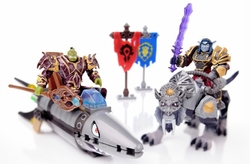 Warcraft Mega Bloks Set #91025 Barrens [Land] Chase