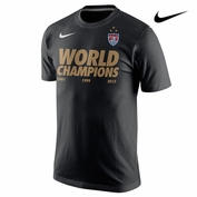2015 FIFA Women's World Cup Nike Champions Tee - Black
