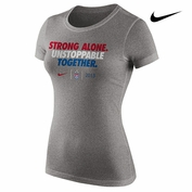 2015 FIFA Women's World Cup Nike Ladies' 3-Star Unstoppable Tee - Grey