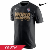 2015 FIFA Women's World Cup Nike Youth Champions Tee - Black