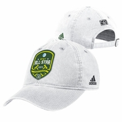 adidas 2014 MLS All-Star Adjustable Slouch Cap - White