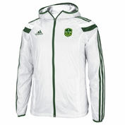 adidas 2014 MLS All-Star Game Authentic Anthem Jacket with Hood - White