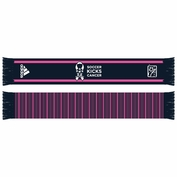 adidas MLS Works Breast Cancer Awareness Scarf - Navy/Pink - FINAL SALE