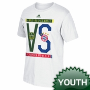adidas Youth 2014 MLS All-Star Game Dueling Scarves Tee - White