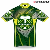 <b><i>Exclusive</i></b> - Portland Timbers Garneau Cycling Tour Performance Jersey - Green