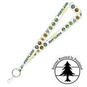 <b><i>Exclusive</i></b> - Portland Timbers Wincraft 5/40 Legends Lanyard - White/Green