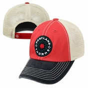 Portland Thorns FC Adjustable Meshback Cap - Red