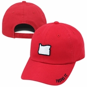 Portland Thorns FC Adjustable State Hat - Red