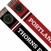 Portland Thorns FC Color Block Scarf - Red/Black
