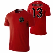 Portland Thorns FC Nike Alex Morgan #13 Replica Tee - Red