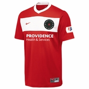 Portland Thorns FC Nike Dri-FIT Adult Authentic Home Jersey - Red