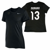 Portland Thorns FC Nike Dri-FIT Women's Alex Morgan #13 Tee - Black