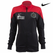 Portland Thorns FC Nike Women's 2015 Anthem Jacket - Black/Red