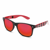 Portland Thorns FC Society43 Striped Sunglasses - Red