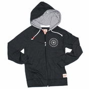 Portland Thorns FC Sportiqe Women's Kristin Lightweight Full Zip Hoody - Black