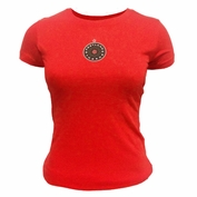 Portland Thorns FC Women's Basic Logo Tee - Red