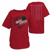Portland Thorns FC Youth 2013 Champions Tee - Red