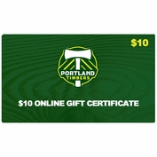 Portland Timbers $10 Online Gift Certificate