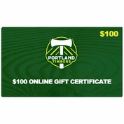 Portland Timbers $100 Online Gift Certificate