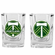 Portland Timbers 2-piece Shot Glass Set