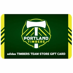 Portland Timbers $25 In Store Gift Card - Click to enlarge