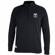 Portland Timbers adidas 1/4 Zip Golf Pullover - Black