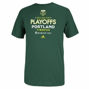 Portland Timbers adidas 2013 MLS Cup Playoffs Tee - Green