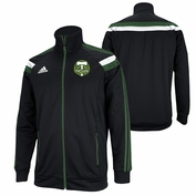 Portland Timbers adidas 2014 Authentic Anthem Jacket - Black