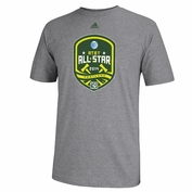 adidas 2014 MLS All-Star Game Logo Tee - Grey