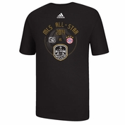 Portland Timbers adidas 2014 MLS All-Star Game Match-Up Tee - Black