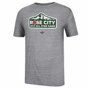 Portland Timbers adidas 2014 MLS All-Star Rose City Tee - Grey