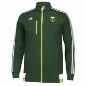 Portland Timbers adidas 2015 Authentic Anthem Fullzip Track Jacket - Green
