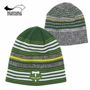 Portland Timbers adidas Authentic Team Reversible Knit Hat - Green/Grey