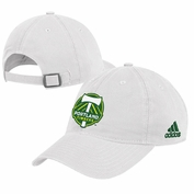 Portland Timbers adidas Basic Slouch Adjustable Cap - White