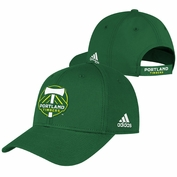 Portland Timbers adidas Basic Structured Adjustable Cap - Green