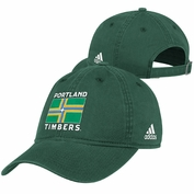 Portland Timbers adidas City Flag Adjustable Slouch Cap - Green