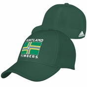 Portland Timbers adidas City Flag Flex Cap - Green