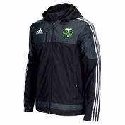Portland Timbers adidas Climaproof&reg 2015 Authentic Coaches Sideline Jacket - Black