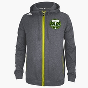 Portland Timbers adidas Climawarm&reg Takeaway Full Zip Hoody - Heathered Charcoal