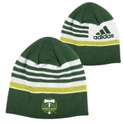 Portland Timbers adidas Coach's Knit Skully Hat - Green