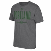 Portland Timbers adidas Countrymen Short Sleeve Tee - Charcoal
